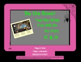 Be the Boss K and G, Articulation Scene Directives, No Print, Teletherapy