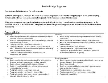 Be the Bridge Engineer - Authentic Assessment for Bridge Types Unit