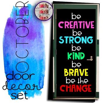 Be the Change Door Decor Set November (Milestone Freebie)