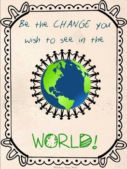 Be the Change Posters {FREEBIE}