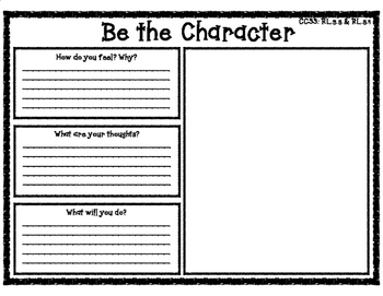 Be the Character