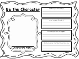 Be the Character/ Character Traits, Motivations, and Actions
