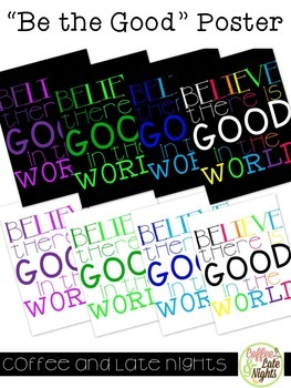 Be the Good Posters