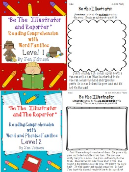 """""""Be the Illustrator and The Reporter"""" Bundle"""