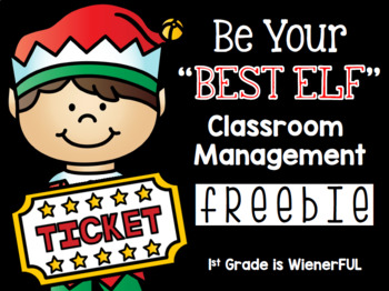 Be your BEST ELF Classroom Management for the Holidays