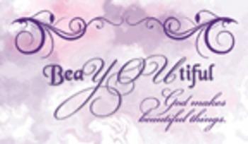 Encouragement Cards - BeaYOUtiful