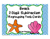 Beach 2 Digit Subtraction Regrouping
