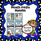 ESY Summer Activities Beach Theme Autism Bundle