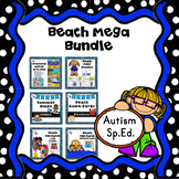 ESY Summer Activities Beach Theme Autism Bundle