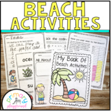 Beach Activities No Prep Math and Literacy Pack