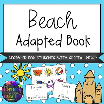 Beach Adapted Book
