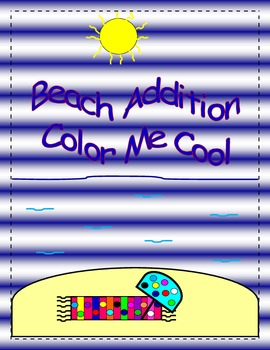Beach Addition Color Me Cool Glyph