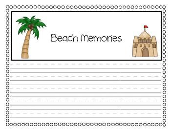 Beach Adventure Journal