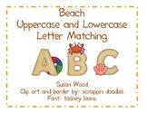 Beach Alphabet Matching