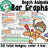 Beach Animals: Summer Bar Graphs