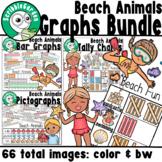Beach Animals: Summer Graphs Bundle