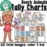 Beach Animals: Summer Tally Charts
