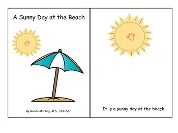 Beach Articulation Books: Initial /s/ and Initial /f/