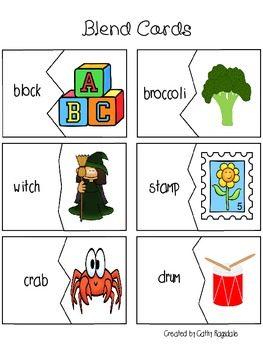 Beach Baby Blends with Digraphs