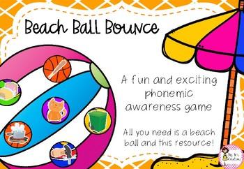 Beach Ball Bounce - A Phonemic Awareness Game