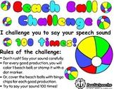 Beach Ball Challenge