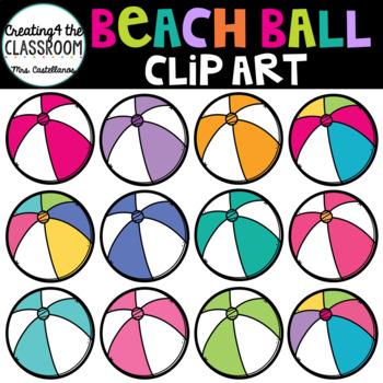 Beach Ball Clip Art {Summer Clip Art}