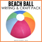 Beach Ball Craft: Back-to-School & End of Year