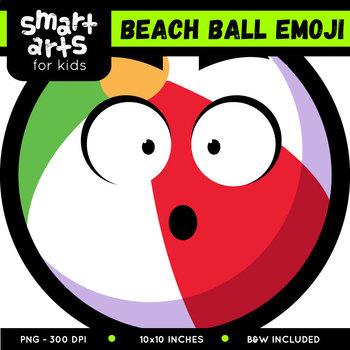 Beach Ball Emoji Clip Art