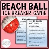 Beach Ball Ice Breaker Game