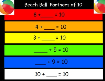Beach Ball Partners of Ten
