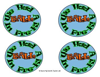 Beach Ball Tag