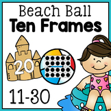 Beach Ball Ten Frames - Free