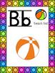Beach Ball Themed Alphabet Posters