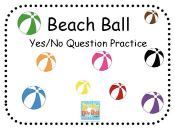 Beach Ball Yes or No Activity