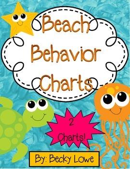 Beach Behavior Charts