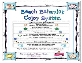 Beach Behavior Color System