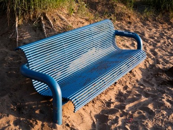 Beach Bench - for Personal and Commercial Use
