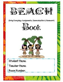 Beach Binder 2 Organization