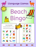 Summer Beach Bingo for EFL ESL EAL MFL