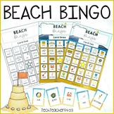Beach Bingo Game