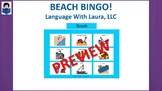 Beach Bingo!