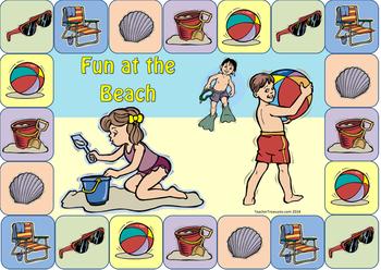 Beach Board Game