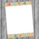 Beach Border Paper Custom Order for Neita