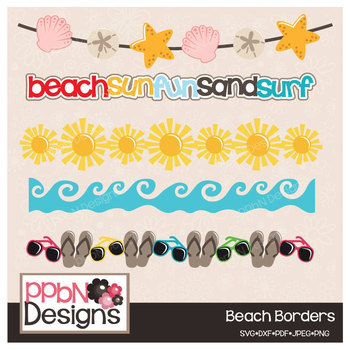 Beach Borders/Banners
