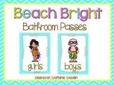 Beach Bright Bathroom Passes
