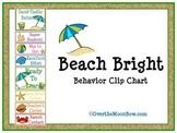 Beach Bright Behavior Clip Chart