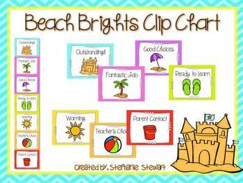 Beach Brights Clip Chart