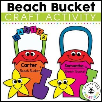 Beach Bucket Craft