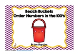 Beach Buckets Ordering Numbers in the Hundreds