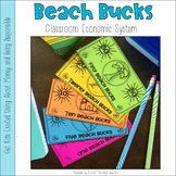 Beach Bucks Classroom Money System